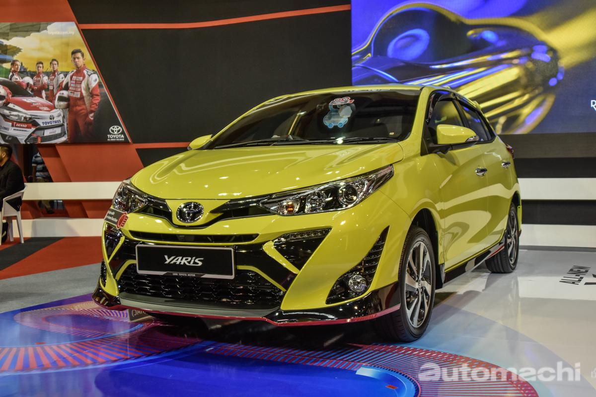 Malaysia Autoshow 2019 : 2019 Toyota Yaris 现身预览!