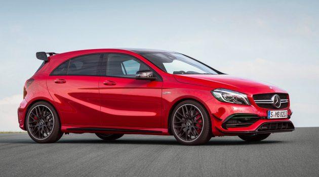 地表最强 Mercedes-AMG A45 !600 hp够用吗?