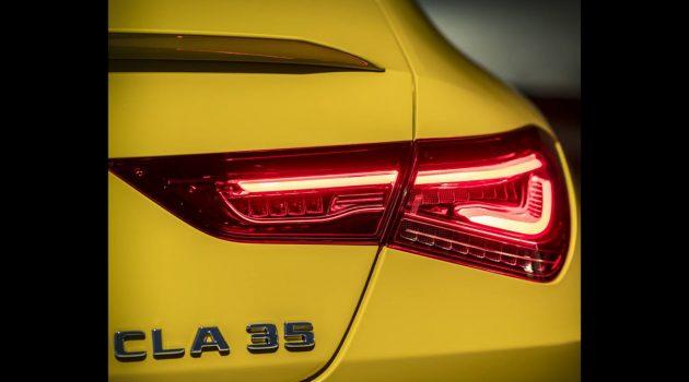 Mercedes-AMG CLA 35 预告登场,纽约车展见?