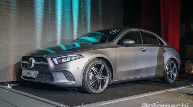 我国 Mercedes-Benz A-Class Sedan 规格与配备!