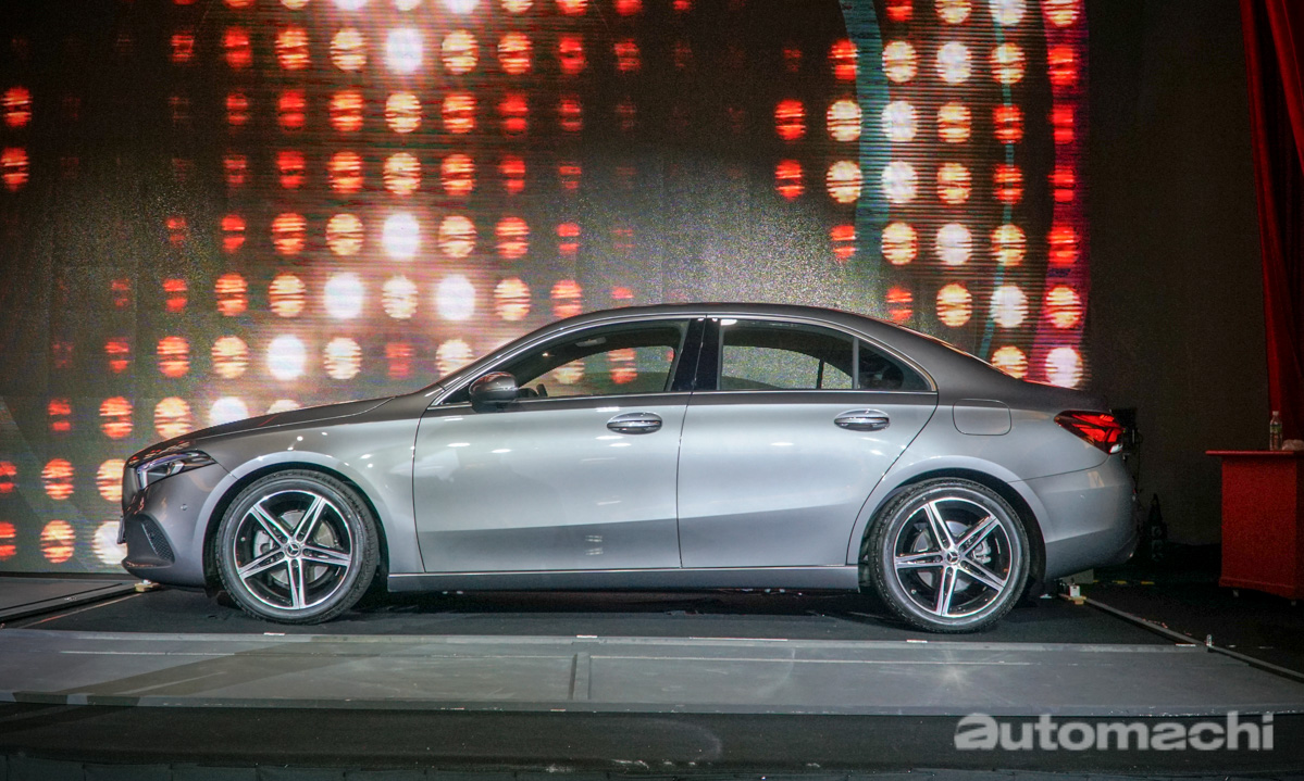 我国 Mercedes-Benz A-Class Sedan 详细规格!