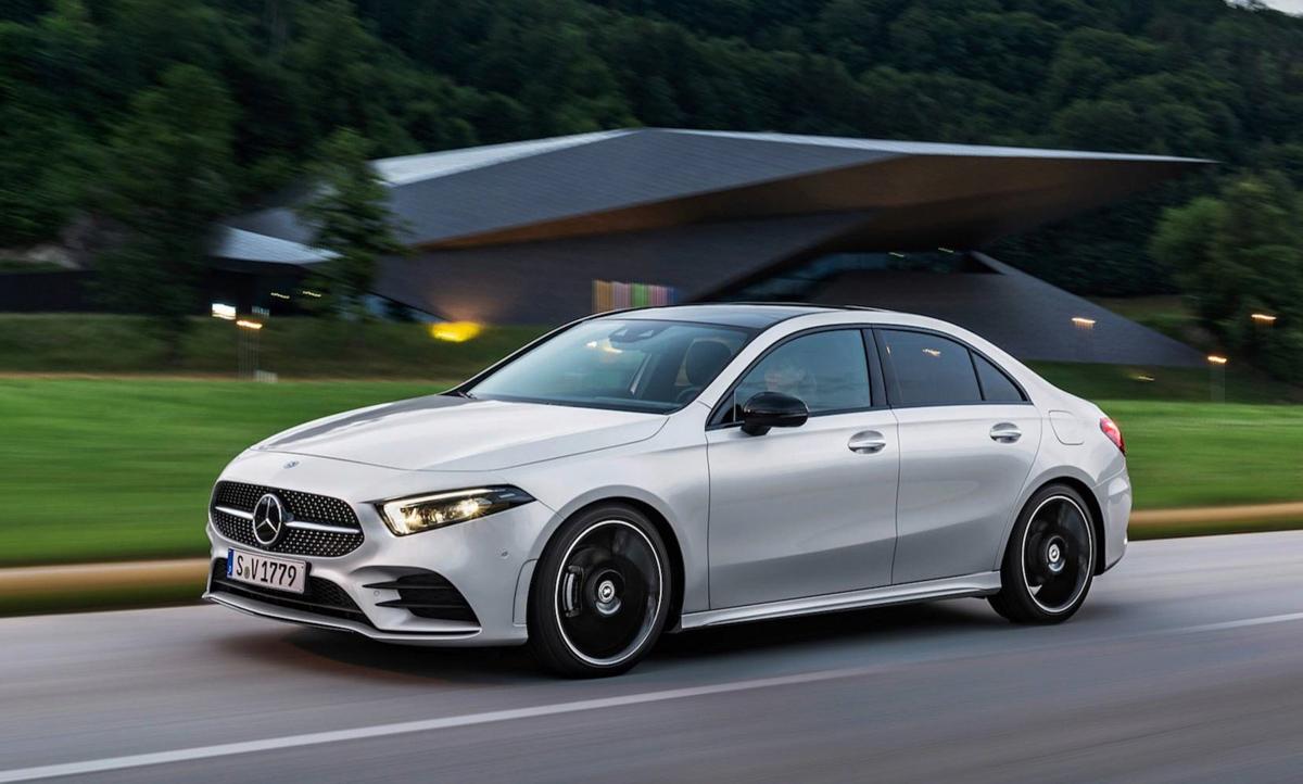 Mercedes-Benz A-Class Sedan 预告登场,我国即将发布!