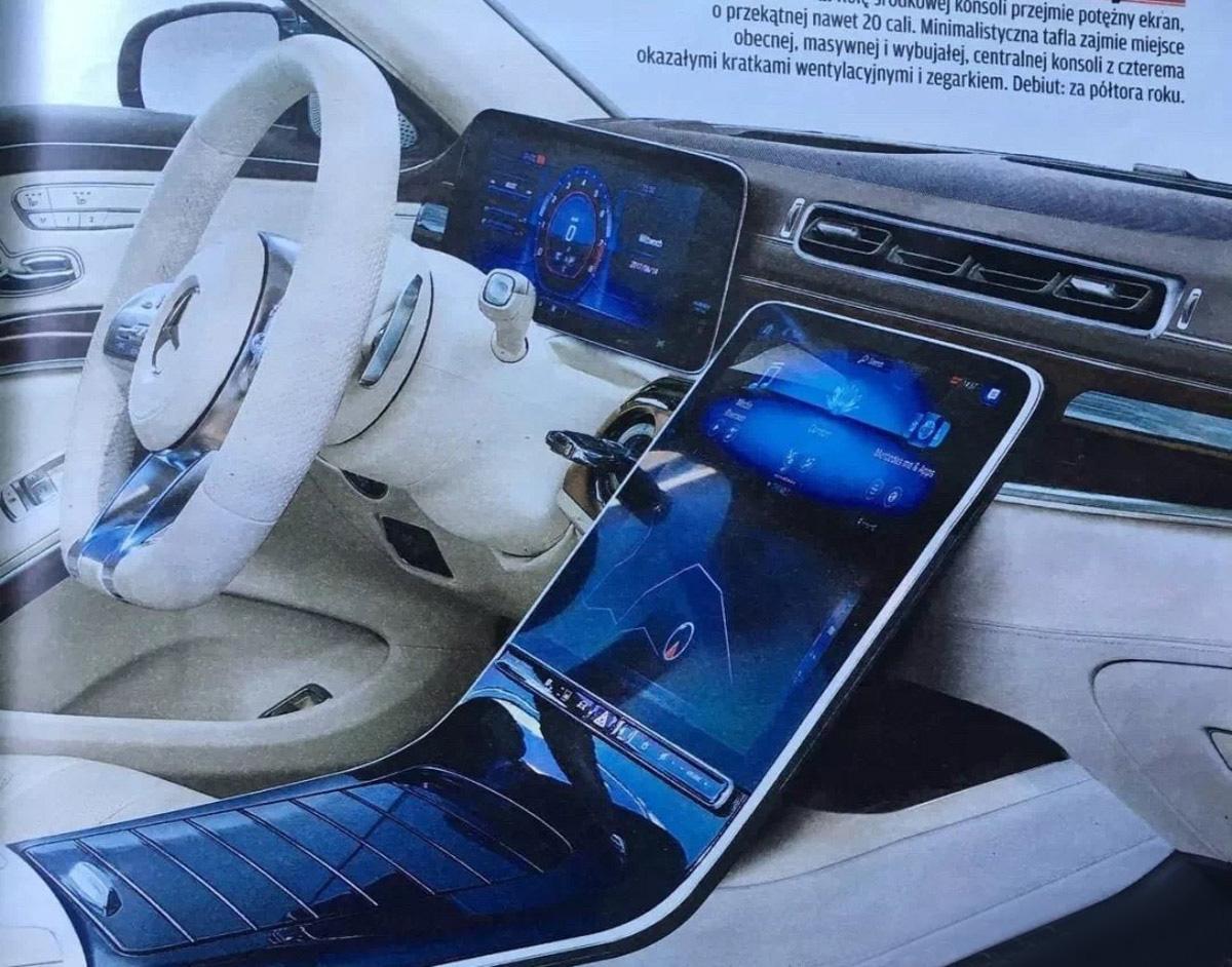卸下伪装,新一代 Mercedes-Benz S-Class 内装长这样!