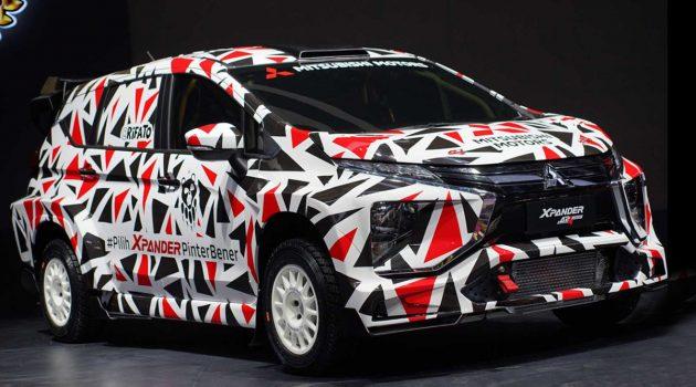 化身拉力赛车, Mitsubishi Xpander AP4 登场!