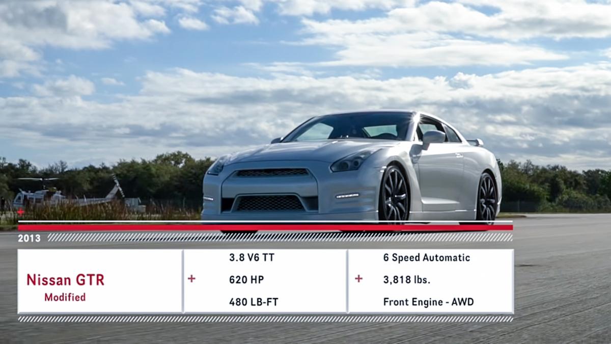 30秒破 300 km/h! Nissan GT-R R35 宝刀未老!