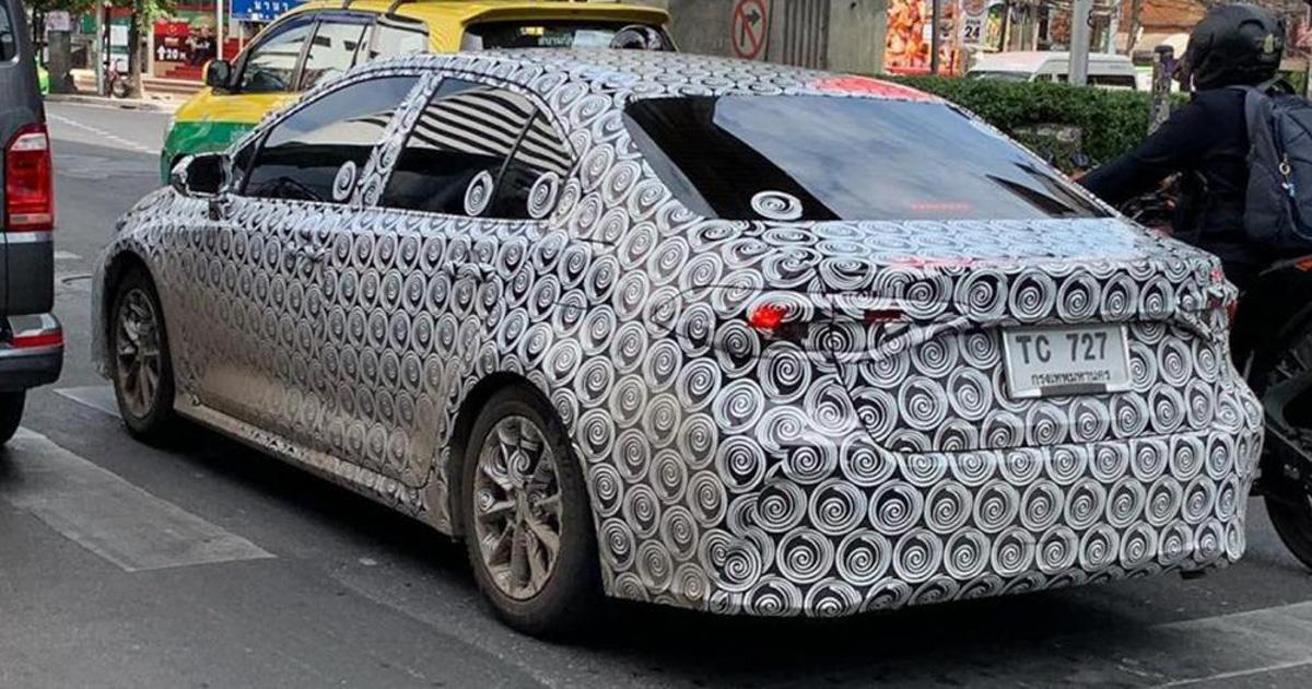 东南亚版来了? Toyota Corolla Altis 现身泰国测试!