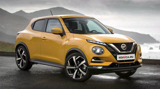 或搭载 Mercedes 引擎,新一代 Nissan Juke 长这样?
