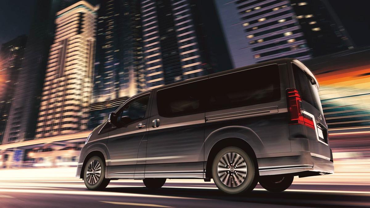 豪华商务神 Van,2019 Toyota Granvia 正式发表!