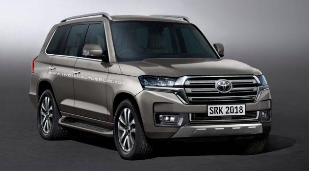 Toyota Land Cruiser 年末登场,或采用 Lexus 涡轮引擎!