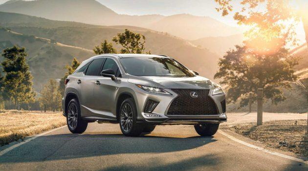 2020 Lexus RX 小改款公布,全新的前脸设计!