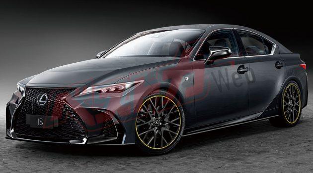 Lexus IS 大改款9月发布?或将搭载 BMW 引擎!