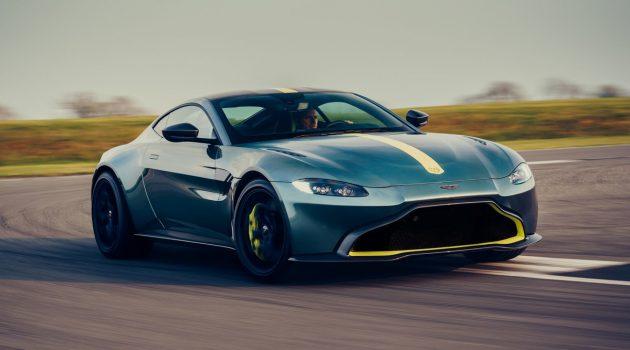 硬派超跑! Aston Martin Vantage AMR 搭载7速手排!