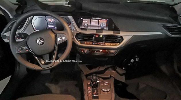 完全曝光!新一代 BMW 1 Series 内装长这样!