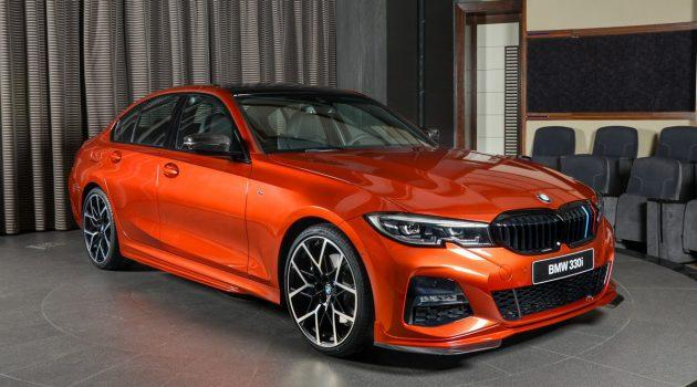 橙色诱惑! BMW 330i M Sport 升级 M Performance 套件!