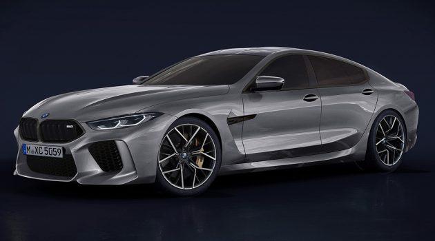 BMW 8 Series Gran Coupe 超低伪装露出!