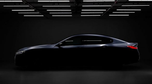 BMW 8 Series Gran Coupe 预告现身!