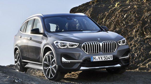 BMW X1 F48 小改款登场,新增PHEV车型油耗更低!
