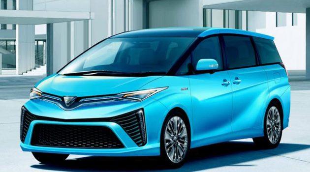 Toyota Estima 大改款或东京车展首发!车身格局进一步放大!