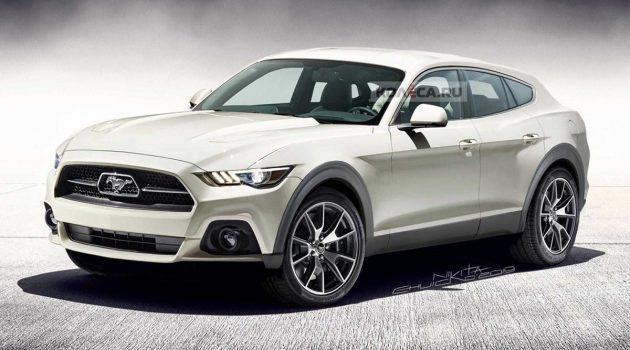 Ford Mustang Crossver 登场!野马的逆袭?