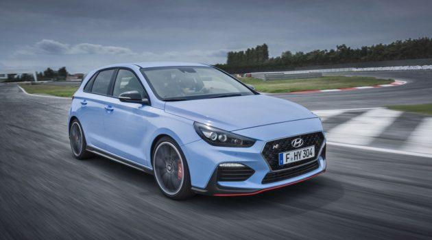 对标 Golf R, Hyundai i30 N 全驱车型测试中!
