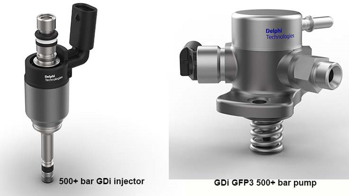 Direct Injection 技术大突破,Delphi Technologies 公布最新技术!