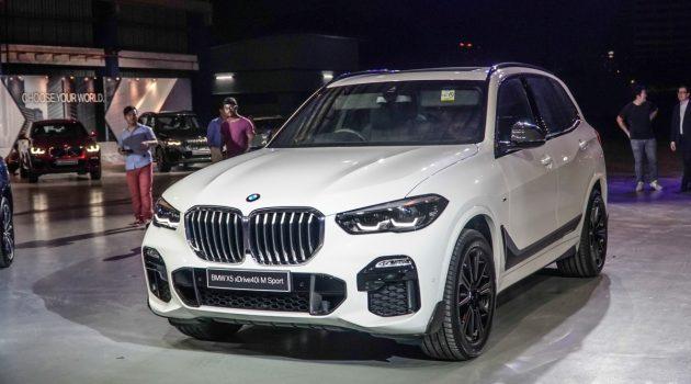 BMW X5 G05 M Sport 我国首发,预计售价RM 640,000 起跳!