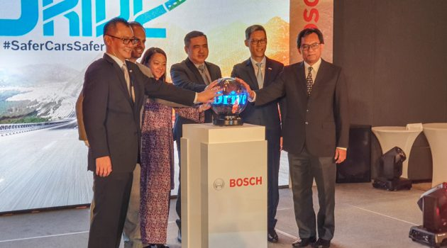 Bosch Automotive Aftermarket 推介 Drive For Life 活动,推广安全驾驶!