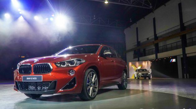 BMW X2 M35i 来袭!指定对手 GLA45 AMG !