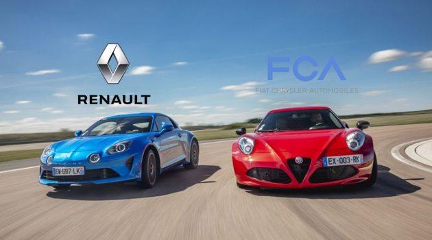Renault 正与 FCA 商谈合作,为和 Nissan 分家做准备?