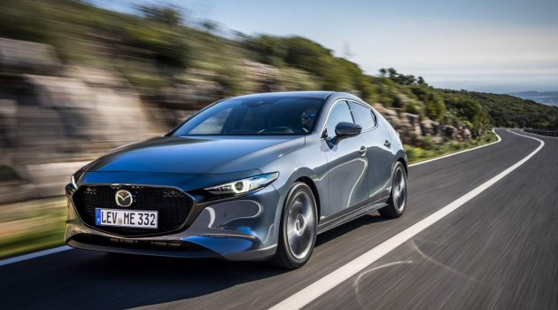 澳规 Mazda3 或追加性能涡轮掀背车型!
