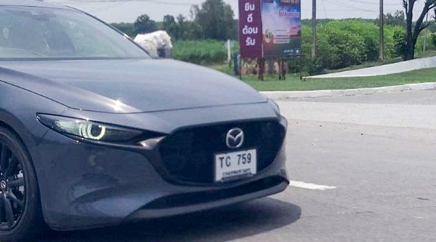 东南亚版本来了! Mazda3 BP 现身泰国测试!