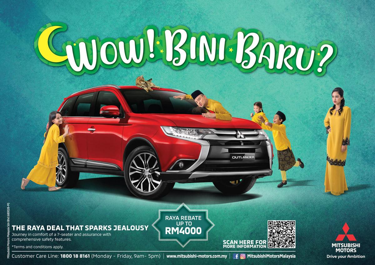 Mitsubishi Motors Malaysia 推出佳节购车优惠!