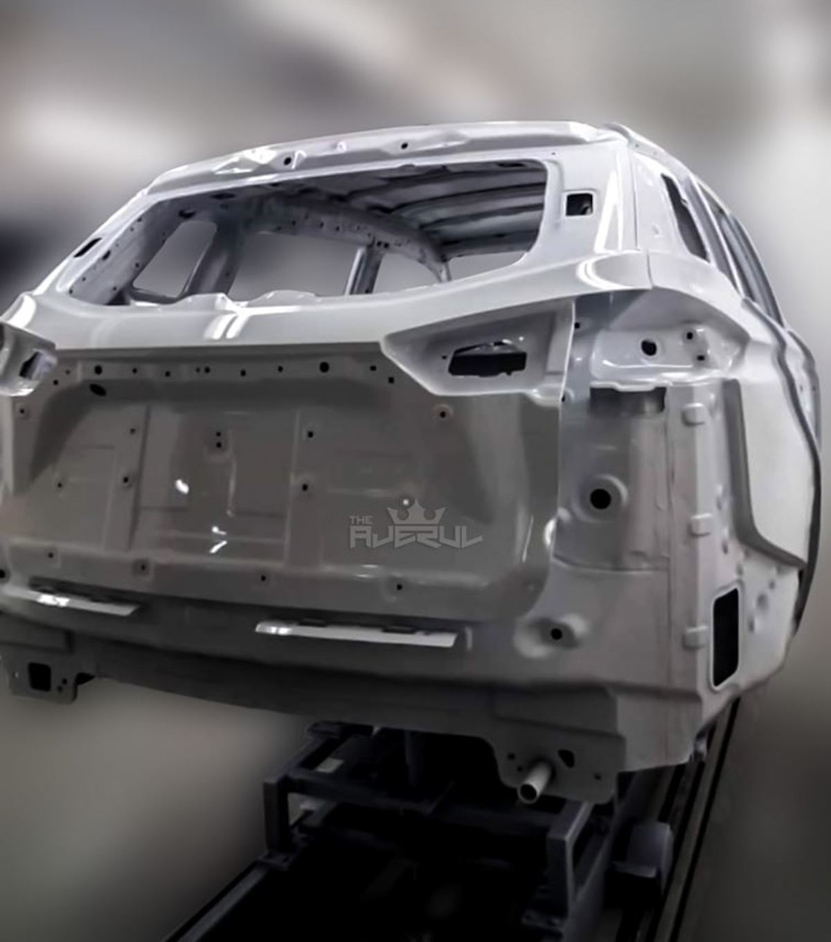 本地制造! Proton X70 CKD 车体新鲜出炉!