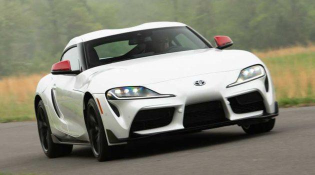 Toyota Supra A90 加速实测,结果比官方成绩还快!