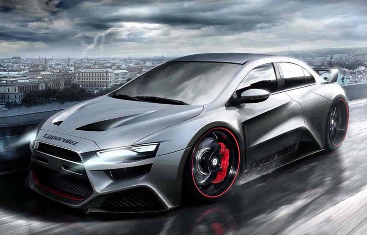 Mitsubishi Lancer Evo 复活有望!或搭全新1.8涡轮引擎!