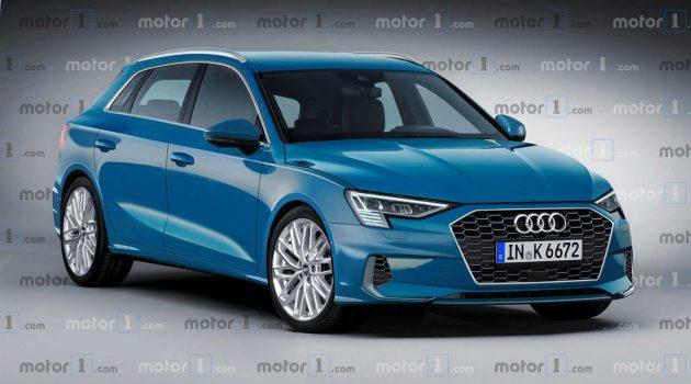 Audi A3 City Hopper 实车现身!这个设计很帅啊!