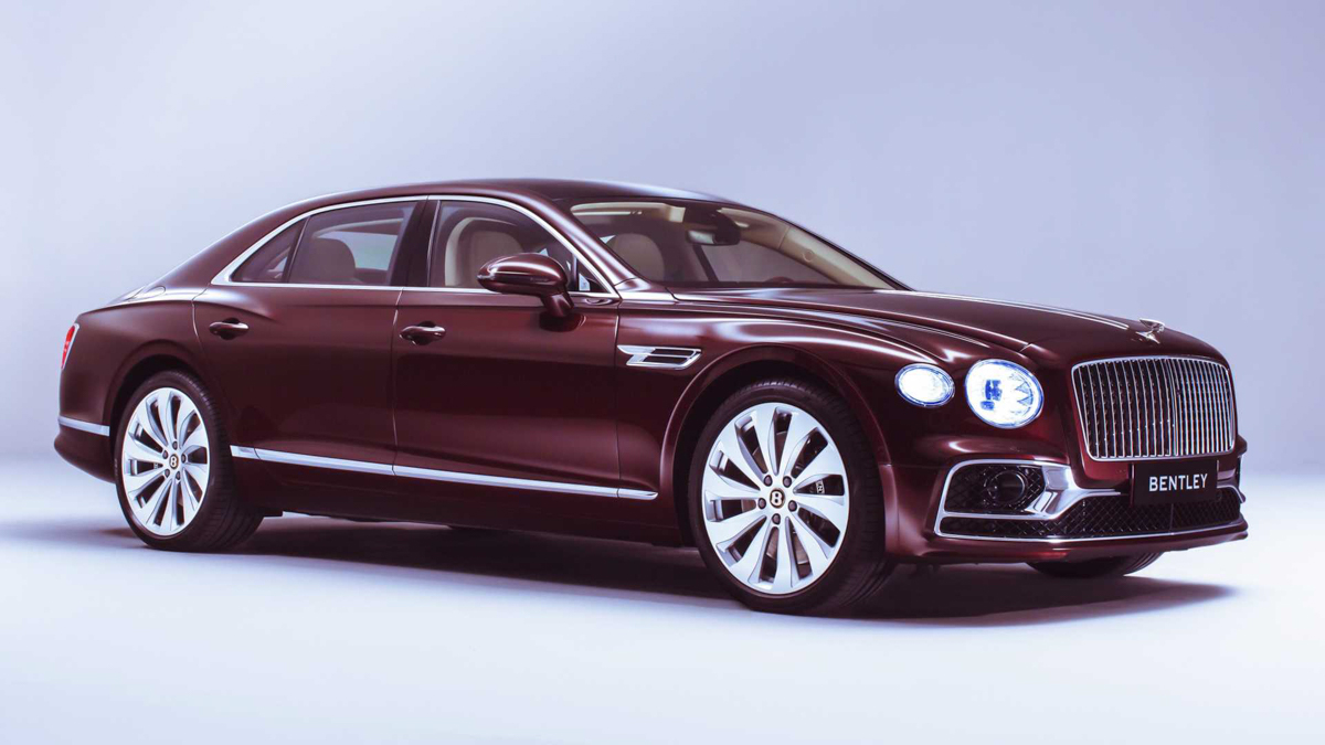 626 hp 奢华房跑, 2020 Bentley Flying Spur 发布!