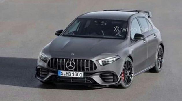 2020 Mercedes-AMG A45 真面目提前曝光!