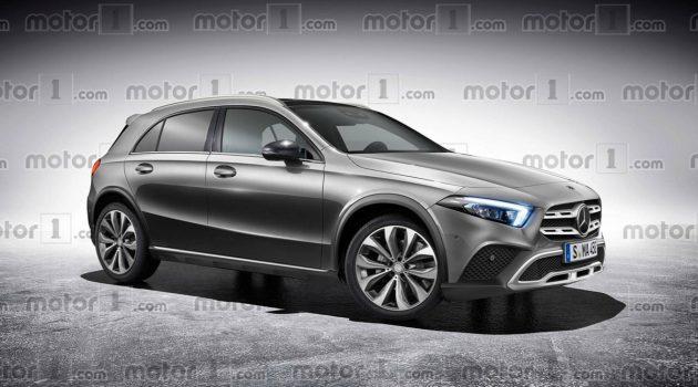 2020 Mercedes-Benz GLA 今年9月法兰克福车展登场!