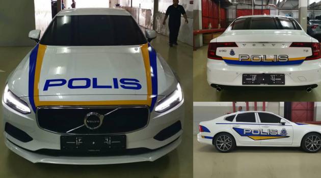 又一潜力战将? Volvo S90 T5 皇家警车涂装现身!