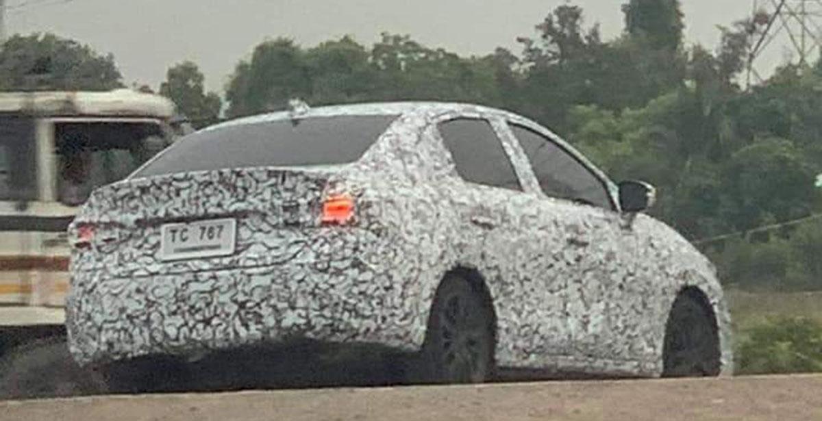 2020 Honda City 现身泰国测试,看起来像迷你 Civic !