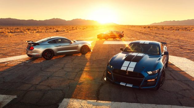 2020 Mustang Shelby GT500 确认最大马力达到760 Hp!