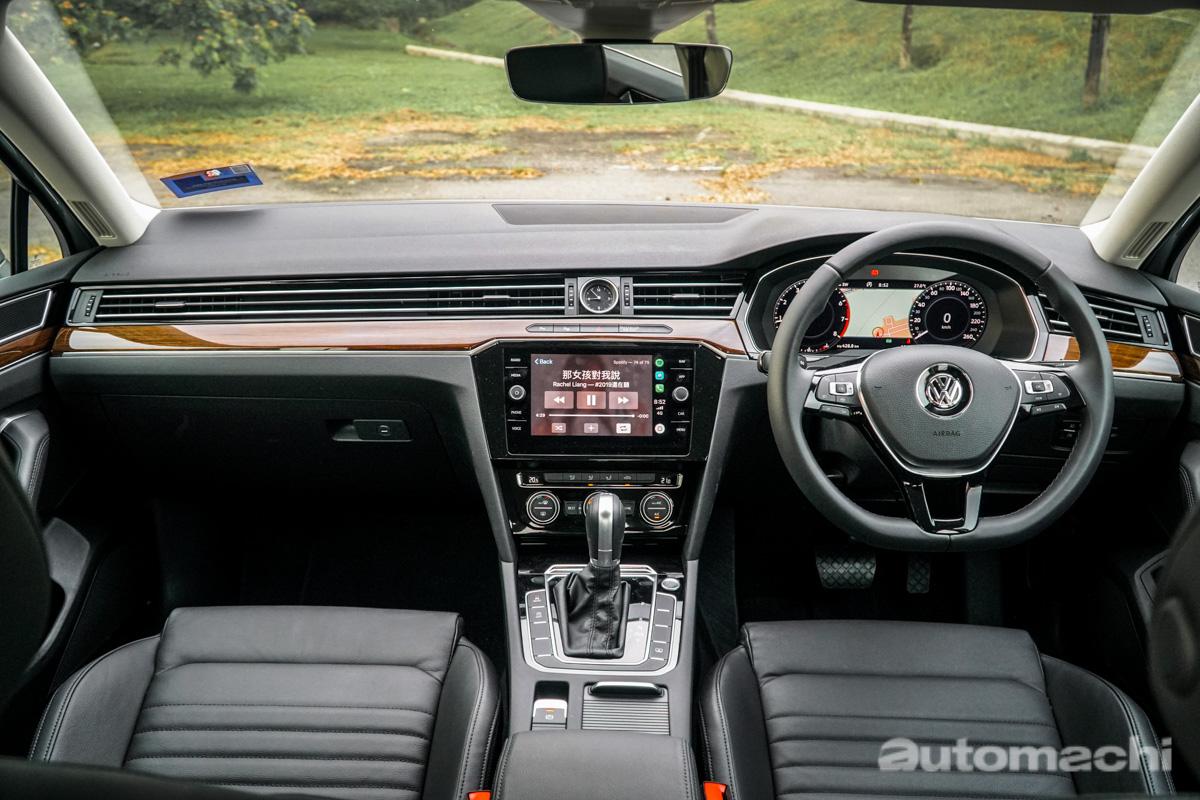 Volkswagen Passat 2.0 TSI ,内敛的暴力绅士!