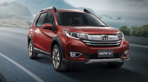2019 Honda BR-V 泰国正式发表,售价从RM 101,702起跳!
