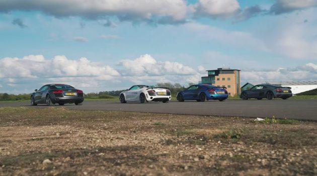 Audi R8 集合!那一款的 Audi R8 最强?