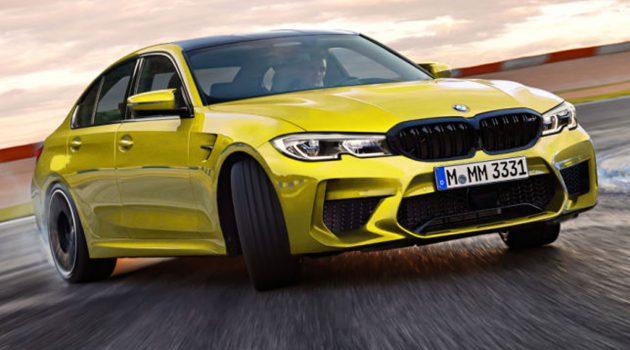 BMW G80 M3 大改款将会有超过500 Hp的马力!