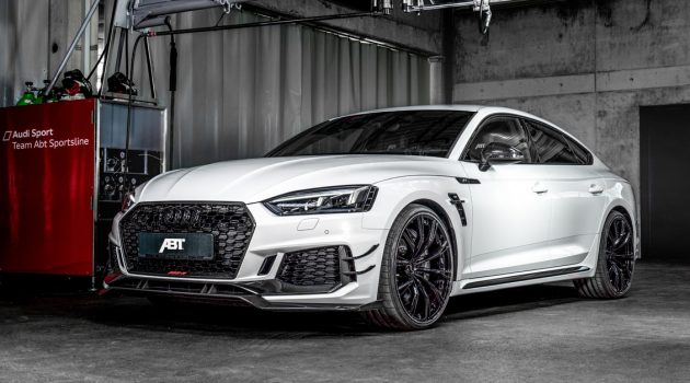 3.6秒破百, ABT RS5-R Sportback 503 hp 狂暴出击!