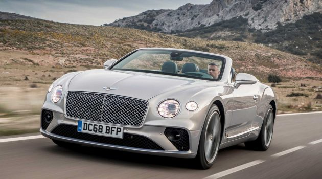 Bentley Continental GT Convertible 登场,RM 224万起跳!