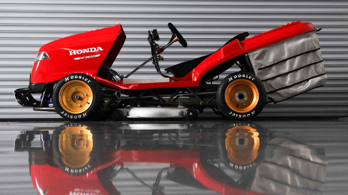 最速割草机! Honda Mean Mower V2 破世界加速记录!