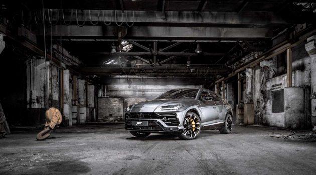 Lamborghini Urus ABT 帅气登场!710 Hp的SUV就是狂!